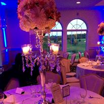 Wedding Picture with Uplighting